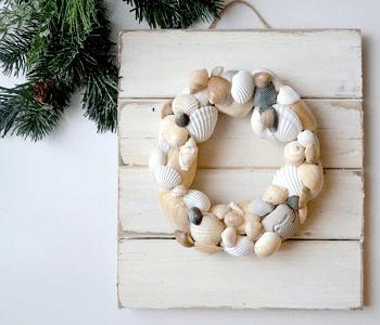 Diy coastal wreath beach home décor DIY Long-lasting Decoration Ideas With Coastal Home Accessories