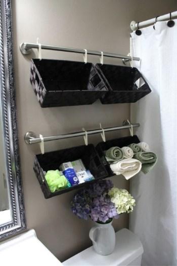 Diy cool basket storage