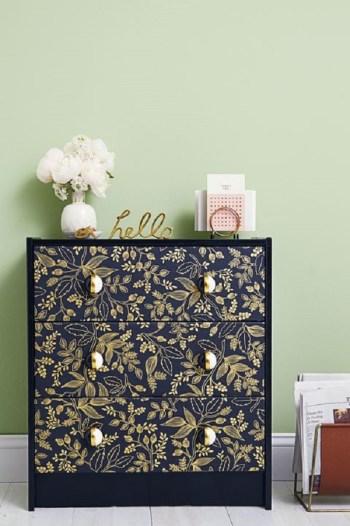 Diy pretty patterned dresser