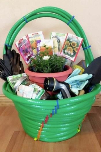 Gardening basket diy