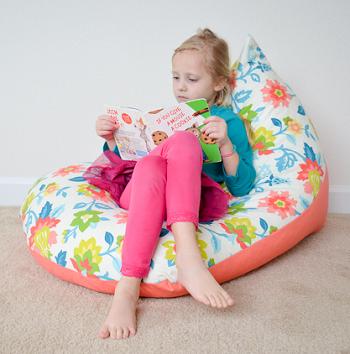 Kids bean bag chair DIY Bean Bag Chairs Ideas To Lay Down And Enjoy