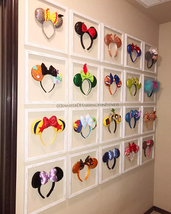 Mouse ear display DIY Disney Nursery Theme Ideas To Have Most Magical Place At Home