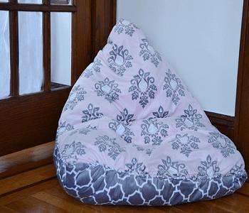 No-sew bean bag DIY Bean Bag Chairs Ideas To Lay Down And Enjoy
