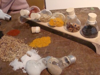 Adorable diy spice containers