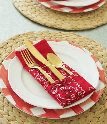 Bandana napkins Skillful Ideas You Can Do With Your Simple Bandana