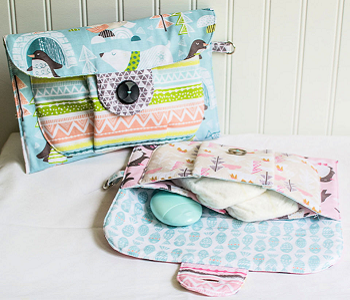 Big pocket baby pouch shower gift DIY Diaper Bag Pattern Ideas To Create As Caring Parents