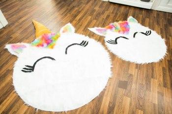 Diy unicorn rug