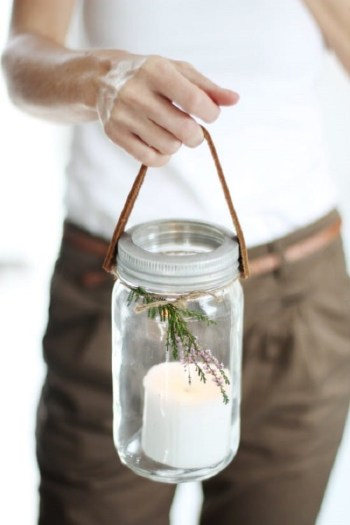 Diy whimsical tote candles