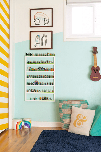 Lego display shelves Most Wanted DIY Wall Decor Ideas To Beat Your Blank Walls For Good