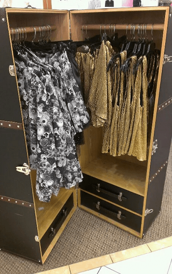 Steamer trunk Chic And Affordable DIY Solutions For Your Kids' Bedroom Without Closet