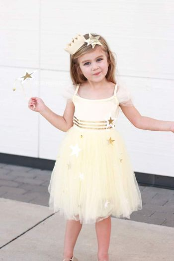Princess star costume that shines