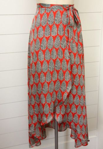 Diy tulip wrapped skirt for fall