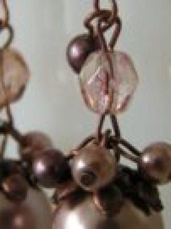 Fall beaded earrings
