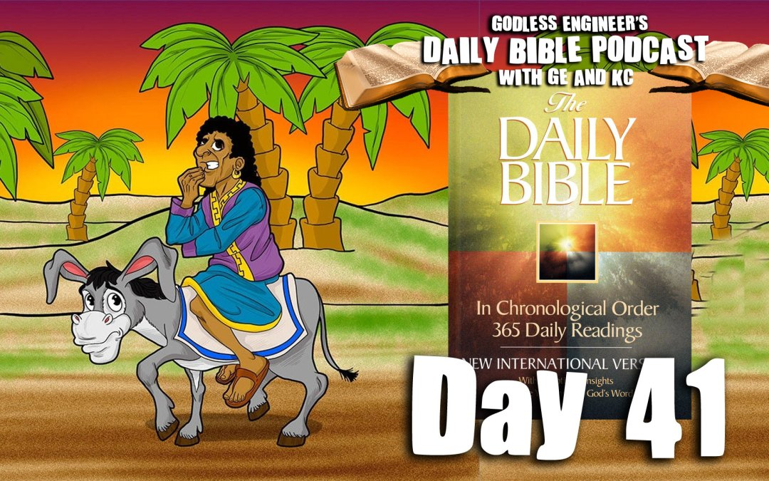 Balak Rides A Talking Donkey To The Israelite Tribes