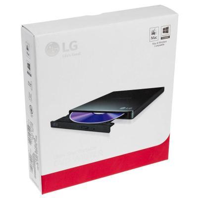 lg gp57eb40 drive esterno slimline dvd rw nero usb 20