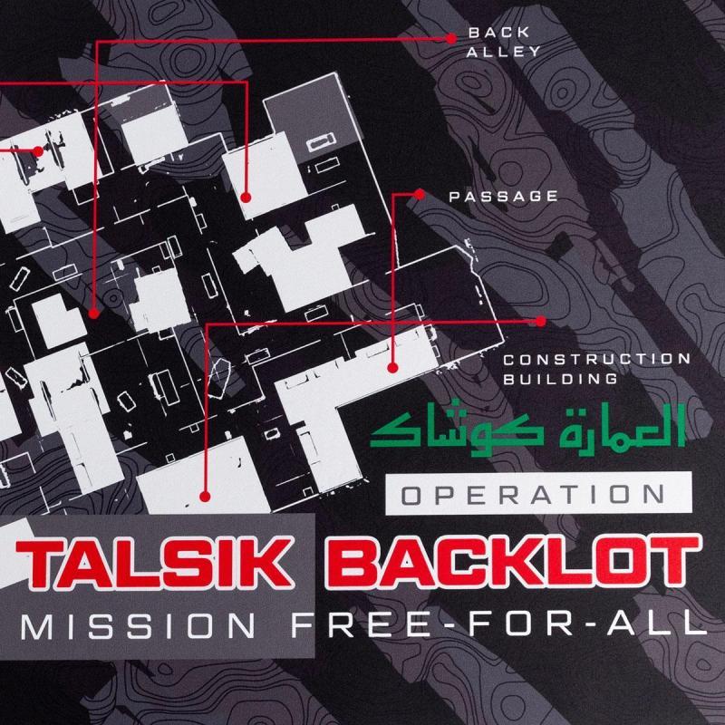 call of duty mousepad talsik backlot