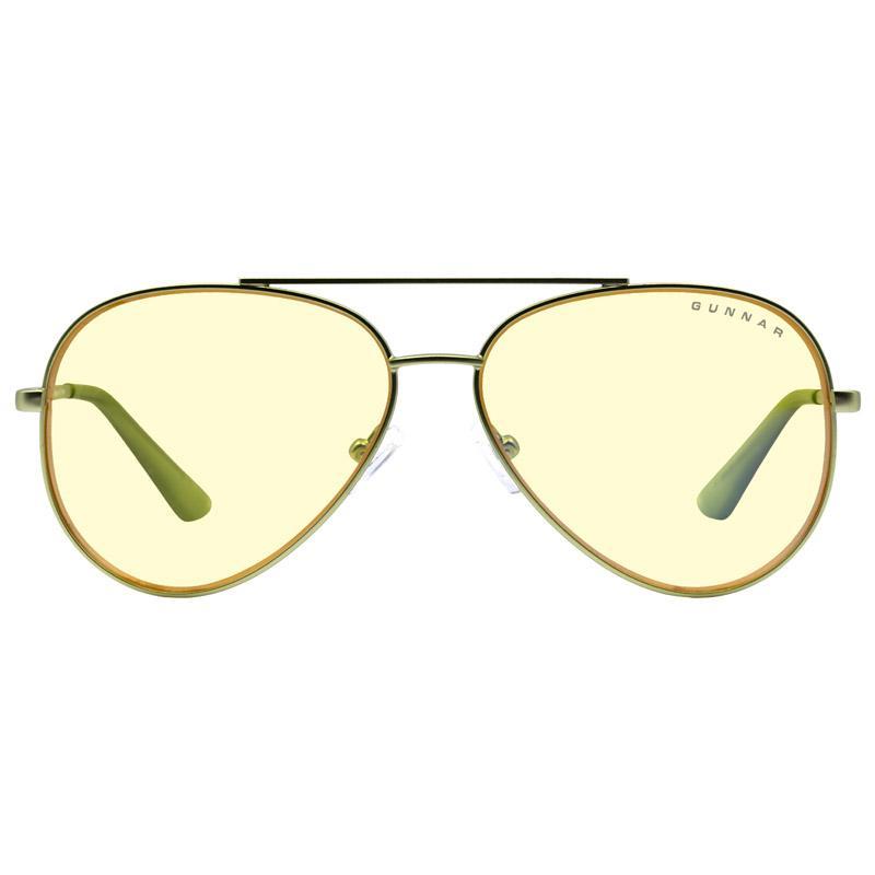 gunnar optiks maverick occhiali per computer lente ambrata verde menta