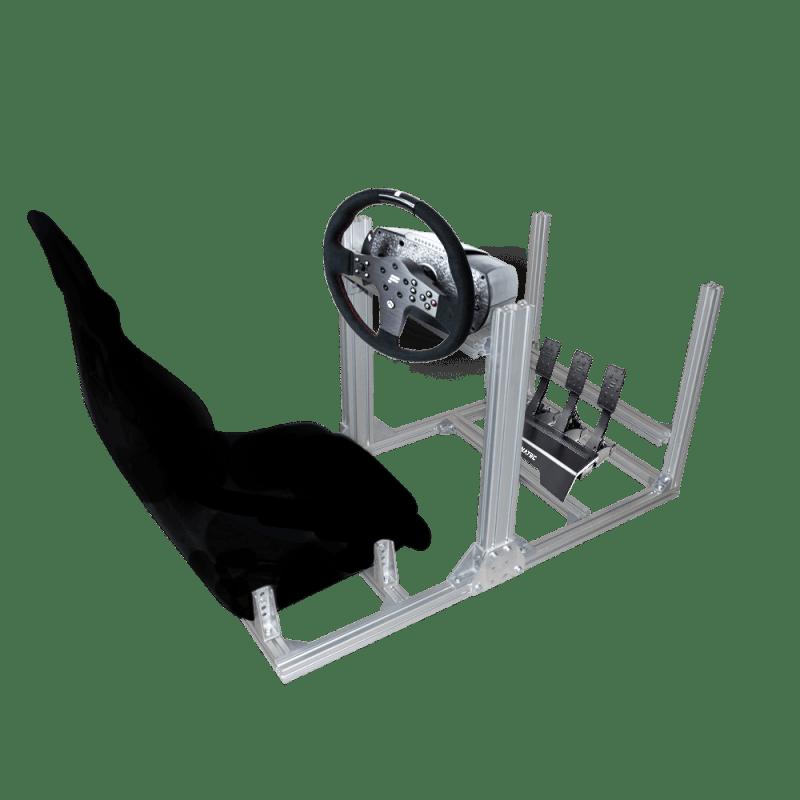 nova creativa racing flight simulator argento