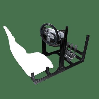 nova creativa racing flight simulator nero