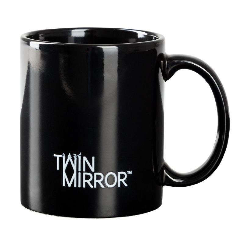twin mirror tazza line art