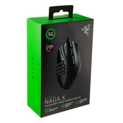 razer naga x gaming mouse nero
