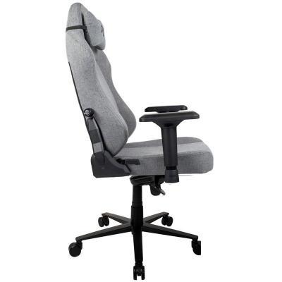 arozzi primo gaming chair tessuto da tappezzeria grigia