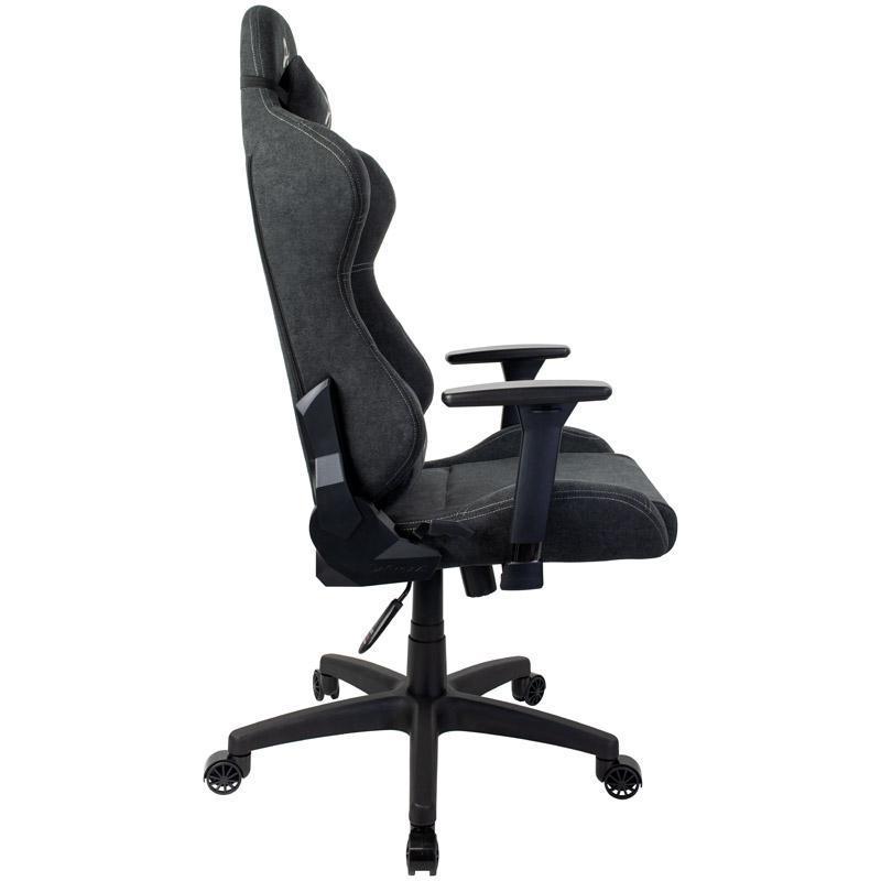 arozzi torretta gaming chair tessuto da tappezzeria grigio scuro