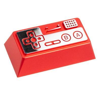 zomoplus keycap in alluminio retro gamepad ii rosso