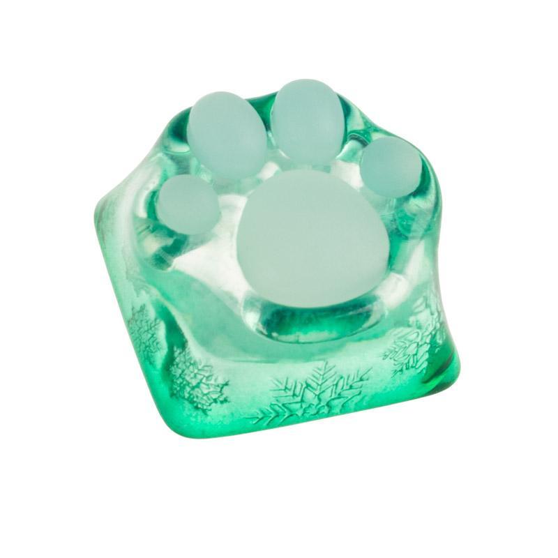 zomoplus keycap zampa di gatto verde