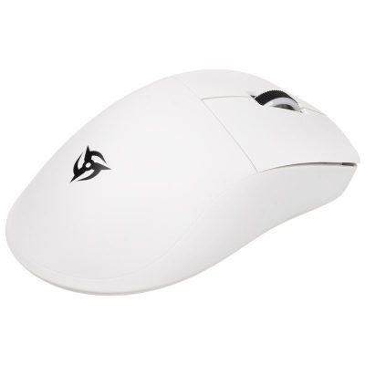 ninjutso origin one x wireless gaming mouse bianco