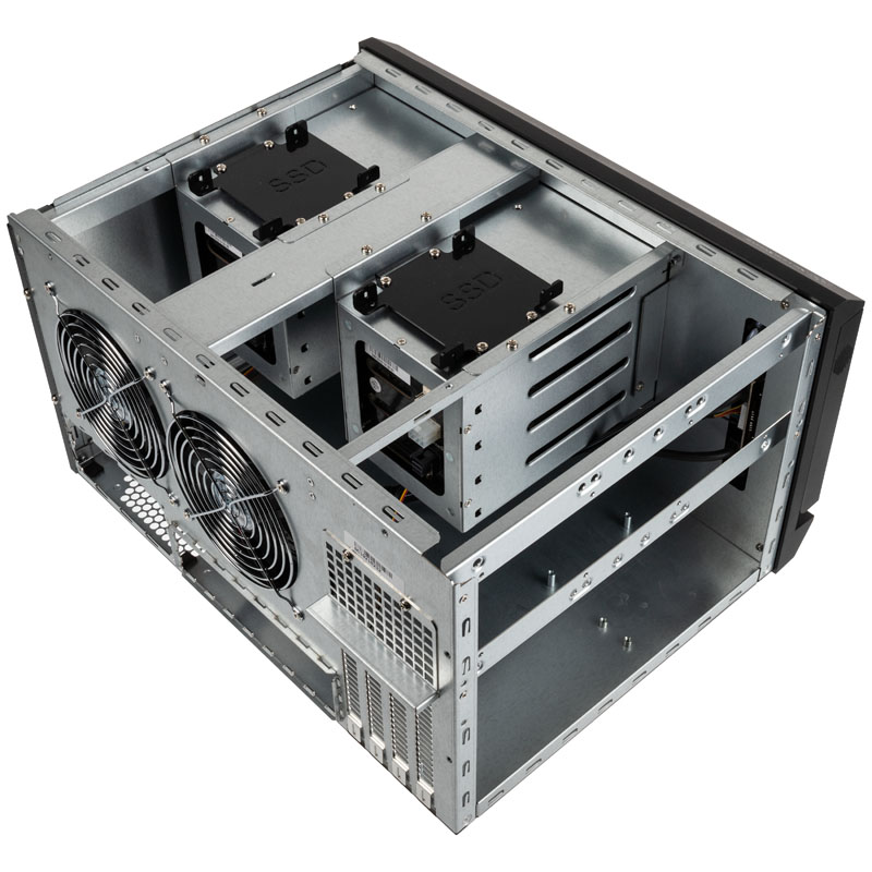 silverstone sst cs381 v11 mini itx storage nero