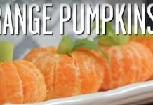 Kid's Recipe - Orange Pumpkins