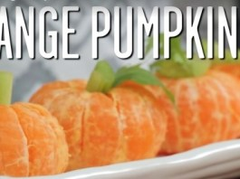 Kid's Recipe - Orange Pumpkins