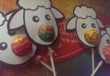 Christmas Sheep Craft with Chupa Chups