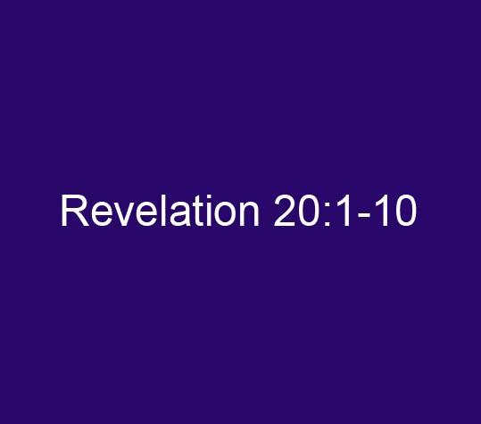 Revelation 20:1-10