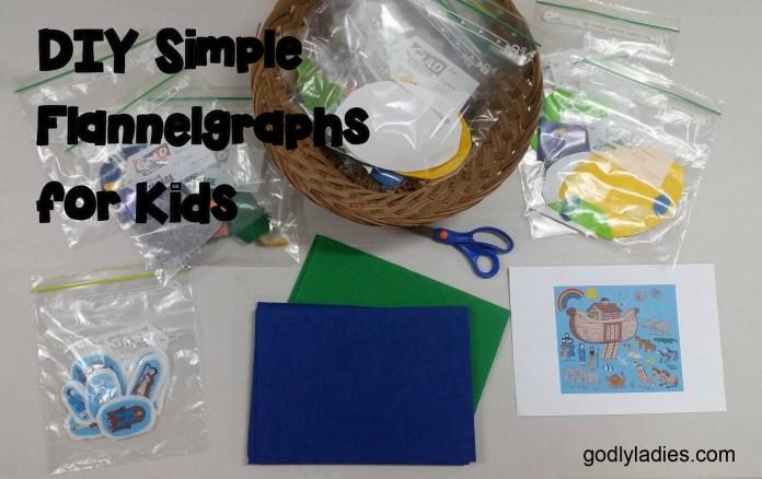 DIY Simple Flannelgraphs for Church
