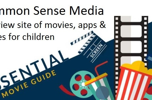 Common Sense Media - A Reivew site of movies, apps and games for children