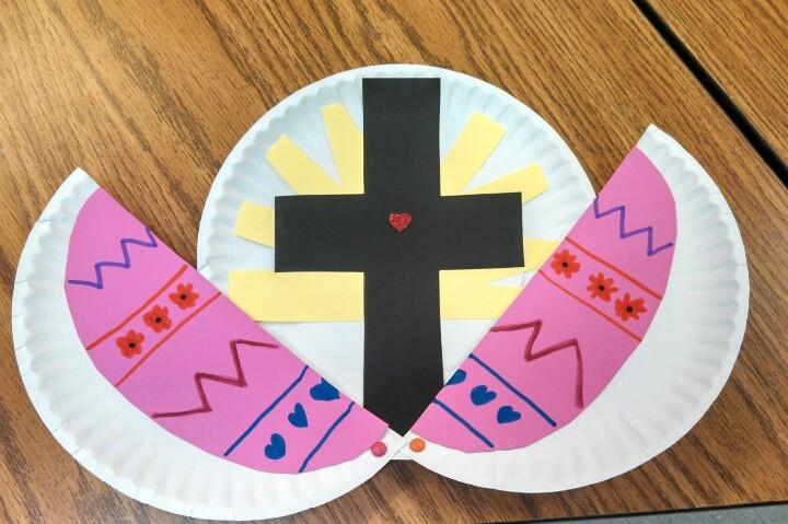 Easter Cross Craft For Children Godly Ladies
