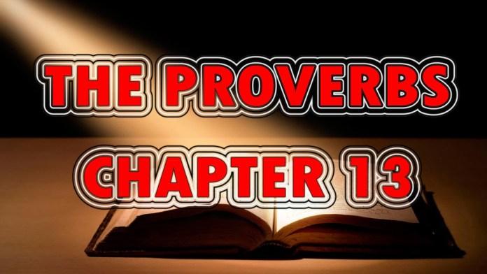Proverbs 13