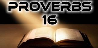 Proverbs 16
