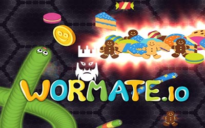 Wormate.io Gameplay