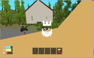 Zombiecraft.io Gameplay