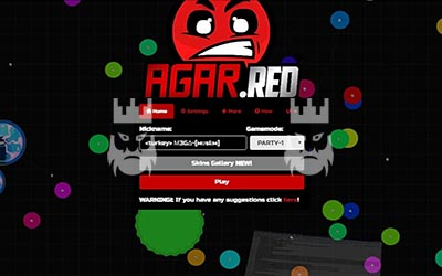 Agar.red Gameplay