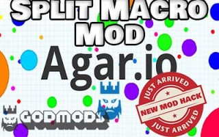 Agar.io Split Macro Mod