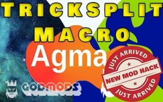 Agma.io Mod Tricksplit Macro