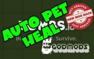 Zombs.io Auto Pet Heal