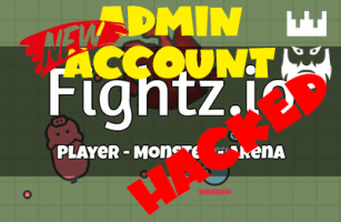 Fightz.io Shared Leaked Admin Account