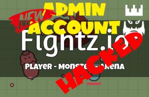 Fightz.io Shared Leaked Admin Account