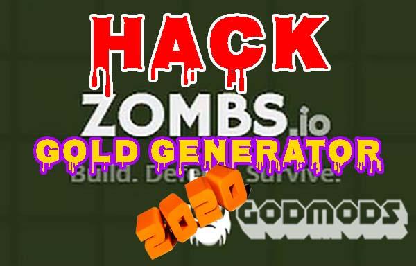 Zombs.io Hack 2020 Gold Generator