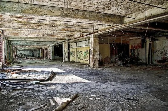 Abandoned Detroit factory